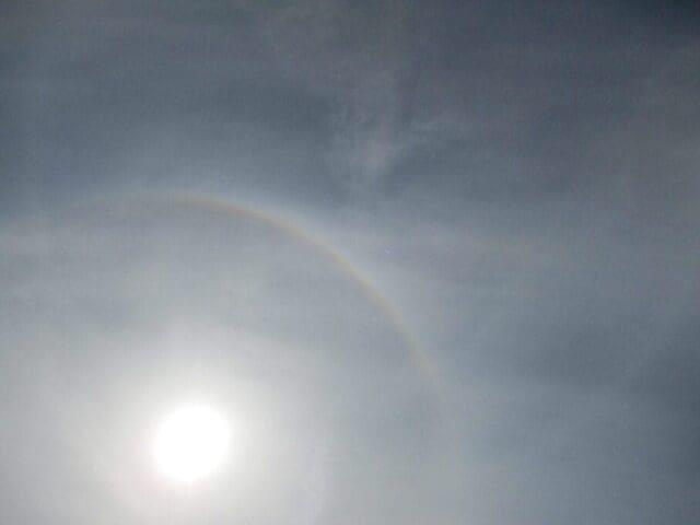 Oblaky Cirrostratus (Cs).