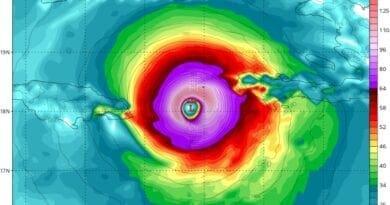 Cyklona, cyklón, tajfun či hurikán? Hurikán Matthew z roku 2016.
