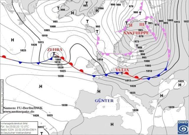 Cyklon Yulia přinese velmi silný vítr