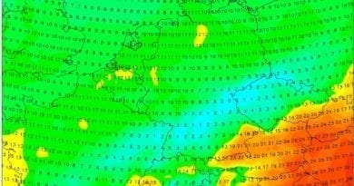 Ledoví muži se blíží, citelné ochlazení přijde. Maxima teploty na 11.5.2020.
