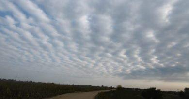 Intenzita atmosférických front. Vlnové oblaky.
