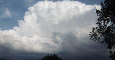 Květen 2020 bude odpovídat normálu. Druhy bouřek. Konvekční bouře.