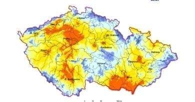 Hydrologická situace: 6.5.2020. Využitelná vodní kapacita.