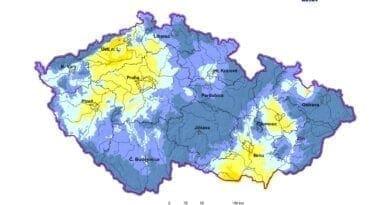 Sucho v ČR se zmírnilo, zažehnalo jen někde. Využitelná vodní kapacita k 23.6.2020.