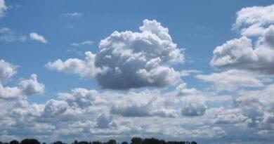 Kde sledovat oblačnost? Meteorologické prvky jako projevy počasí. Letní oblačnost.