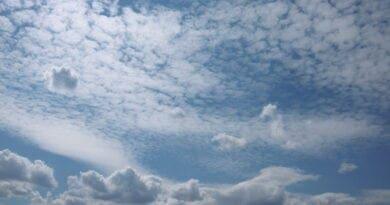 Střední a nízká kupovitá oblačnost. Během týdne se vrátí teplé počasí.