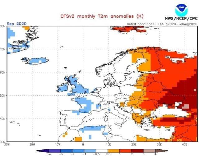V září 2020 bude spíše tepleji