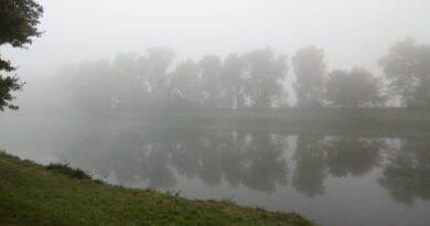Charakteristiky mlh, podzimní mlha.