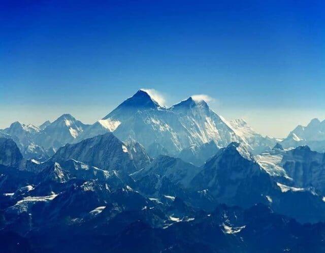 Tají ledovce na Mount Everestu