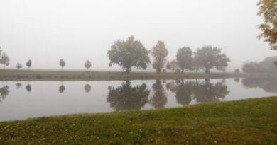 Radiační mlha, podzimní teplotní inverze, radiační mlhy u nás