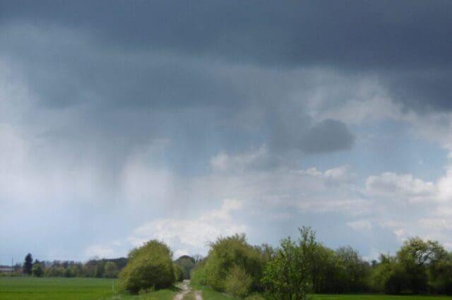 Počasí na jaře v podmínkách ČR