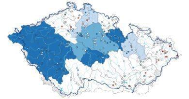 Hydrologická situace je velmi dobrá. Hladiny podzemních vod k 18.7.2021.